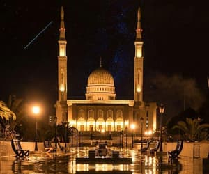 Algeria, night, and mosquee image