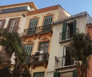 balcony, Malaga, and oldschool image