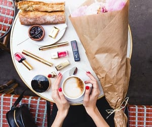 cafe, coffee, and cosmetics image