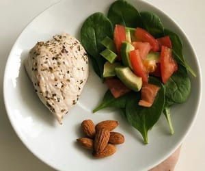 dinner, food, and healthyfood image