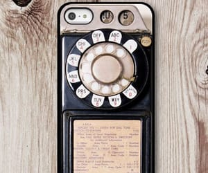 case, iphone, and vintage image