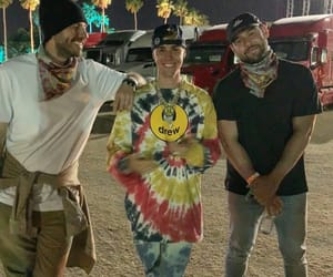 boys, justin bieber, and coachella image