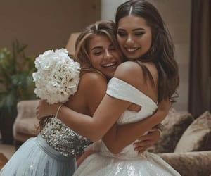 bouquet, friends, and bride image