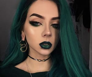 alternative, girl, and dyed hair image