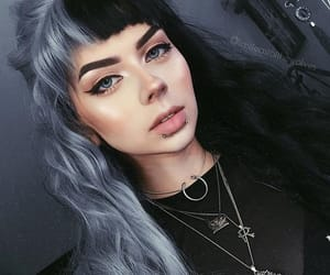 alternative, dyed hair, and fashion image