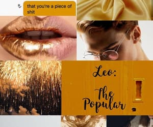 aesthetic, Leo, and August image