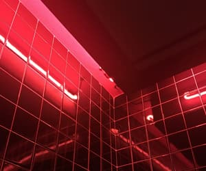 red and neon image