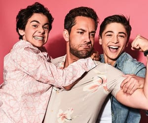 zachary levi, jack dylan grazer, and asher angel image