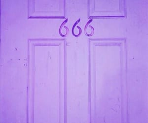 666, door, and satan image