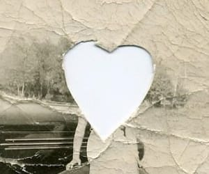 heart, love, and vintage image