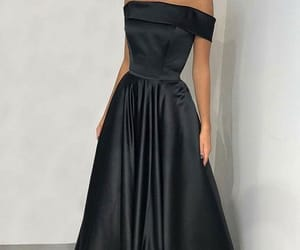 evening dress, fashion, and prom dress image