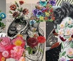 flowers, twitter, and headers image