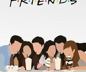 friends, wallpaper, and tv show image