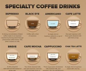 americano, coffee, and latte image