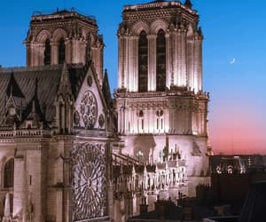 Cathedrale, ile de france, and notre dame image