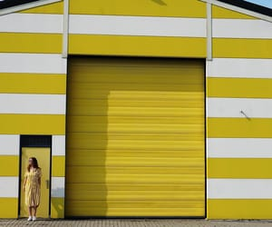 facade, striped, and stripes image