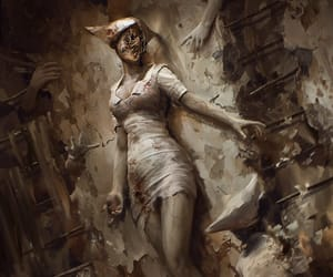 evil, silent hill, and fanart image