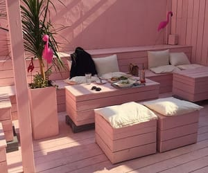 hotel, pink, and pinkmood image