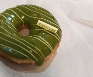 green, aesthetic, and donut image