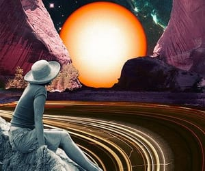 space, art, and hipster image