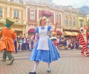 alice, disney, and easter image
