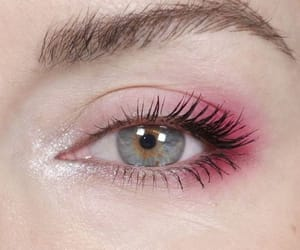 makeup, pink, and make image