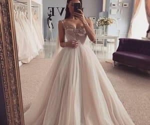 Blanc, dress, and robe image