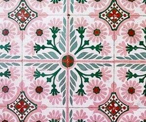 ethnic, green, and pattern image