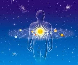 astrology, aura, and zodiac image