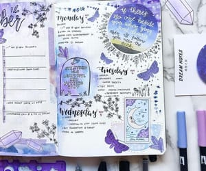 bullet journal, articles, and journal image