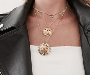 style, fashion, and necklace image