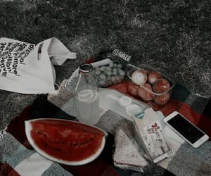 fruit, aesthetic, and picnic image