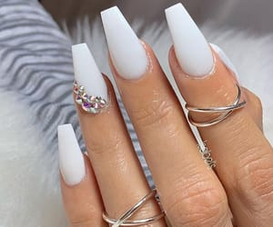 acrylics, bling, and goals image