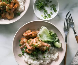 chinese, ginger, and shrimp image