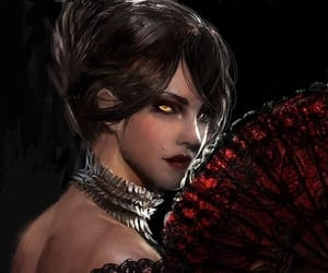 beauty, morrigan, and woman image