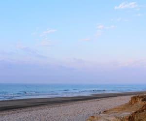 beach, blue, and calm image