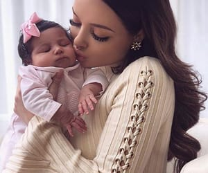 adorable, baby, and love image