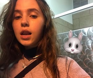 claire cottrill, clairo, and baby benz image