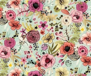 floral and pattern image