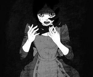 anime, alice, and black image