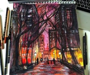 art, city, and creative image