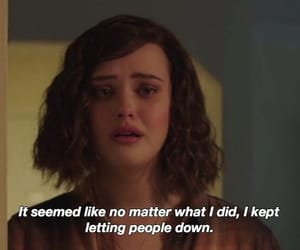 13 reasons why, quotes, and sad image