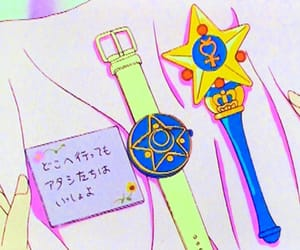 anime, sailor mercury, and Letter image