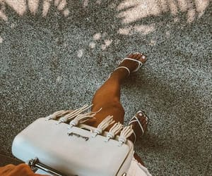 bag, fashion, and leather image