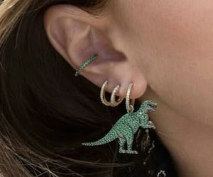 accessories, dinosaurs, and green image