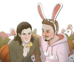anime, Avengers, and chocolate image
