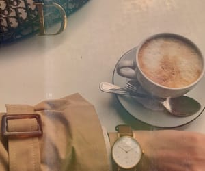 accessories, bag, and coffee image