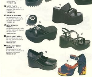 shoes, 90s, and fashion image