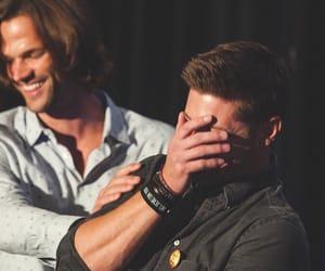 supernatural, jared padalecki, and Jensen Ackles image