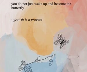 quotes, butterfly, and growth image